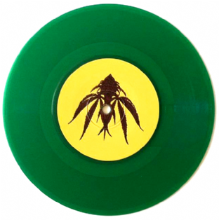 "Cimarons (The) ‎- Mother Earth/National Bird (7"") (Green Vinyl) (VG+/NM)"